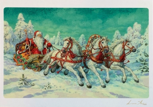 Новогодняя открытка-7