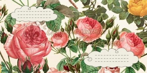 """Конверт """"Розы"""""""