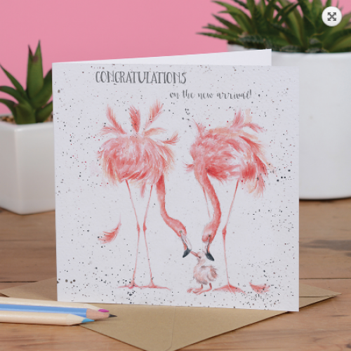 """""""New Arrival"""" card"""