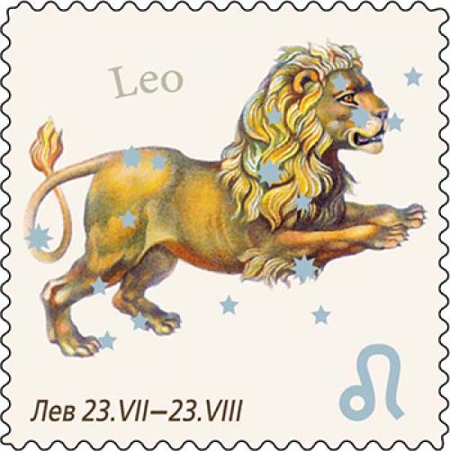Лев (виниловый магнит)