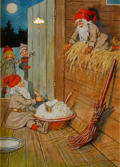 Санта Клаусы и миска каши
