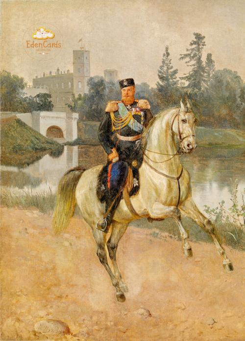Портрет Александра III в Гатчине