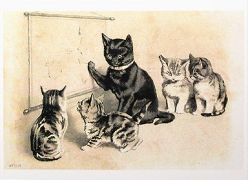 Ретро коты - 6