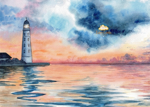 Вечерний маяк