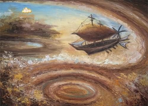 Дирижабль в атмосфере Юпитера