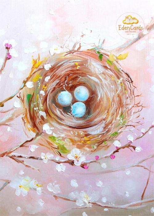 Цветущее гнездышко