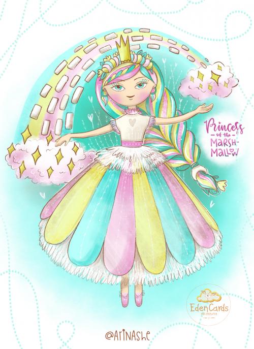 Принцесса маршмелоу