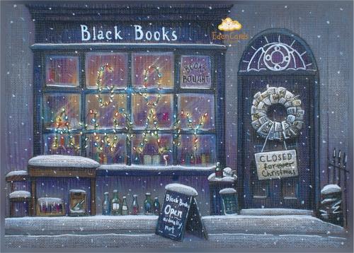 Новогодний магазинчик Блэка