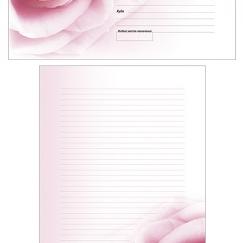 "Набор для письма ""Роза"""