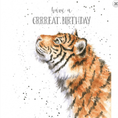 """Grrreat Birthday"" card"