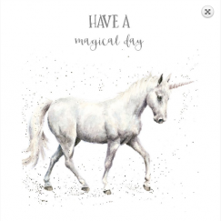 """Magical Day"" Birthday card"