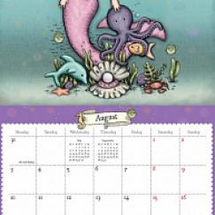 "Календарь настенный 2020 ""Bubble fairy"""